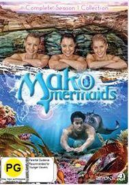 Mako Mermaids - Complete Season 1 Collection on DVD