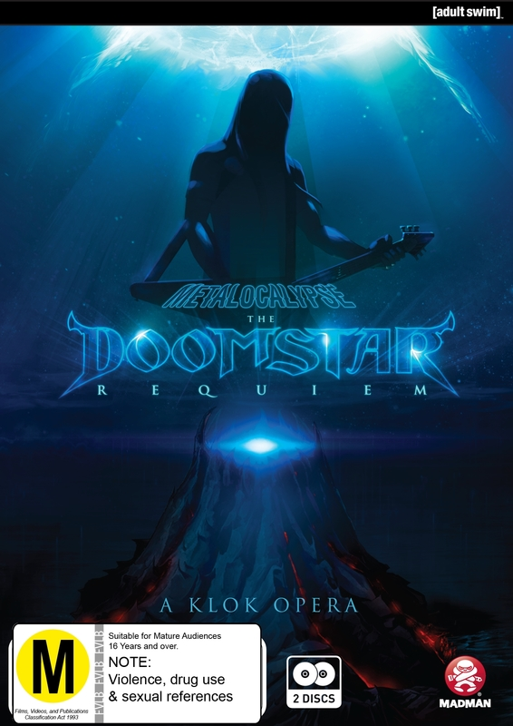 Metalocalypse: The Doomstar Requiem on DVD