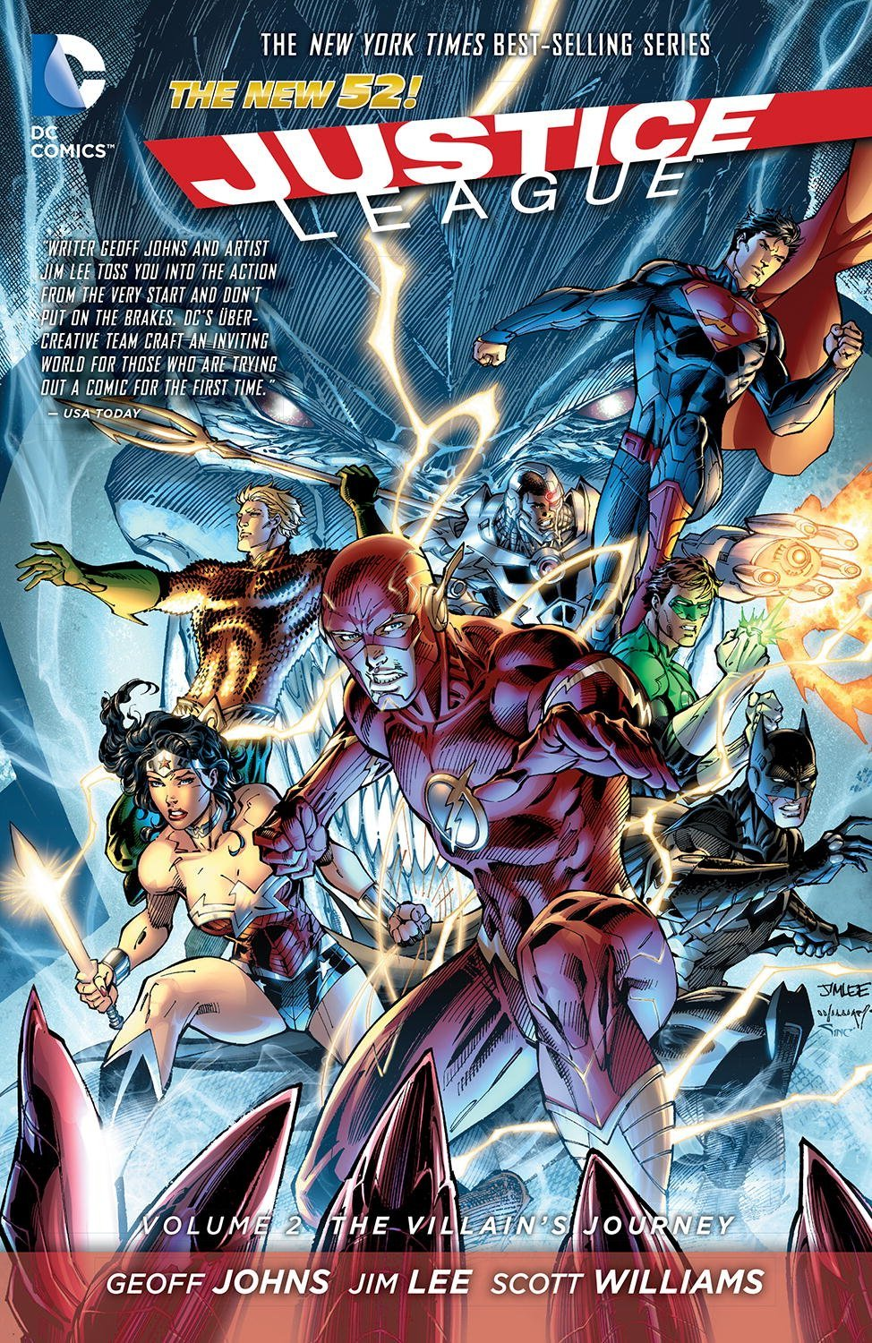 Justice League Vol. 2 by Geoff Johns image