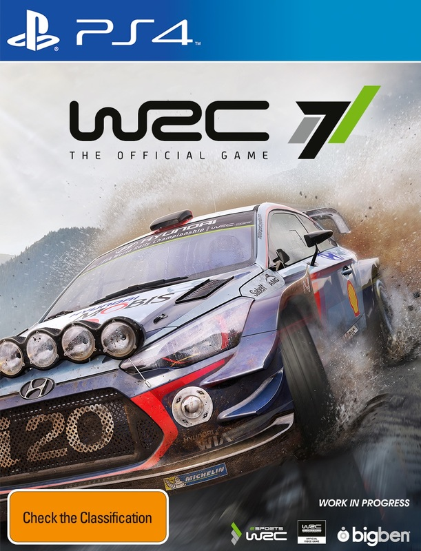 WRC 7 for PS4