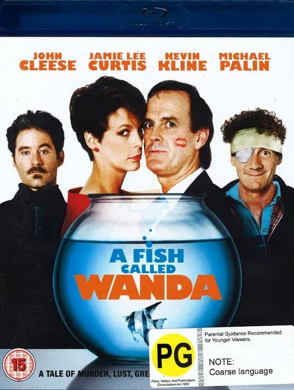 A Fish Called Wanda on Blu-ray