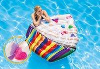 "Intex: Cupcake - Inflatable Lounger (56"" x 53"")"