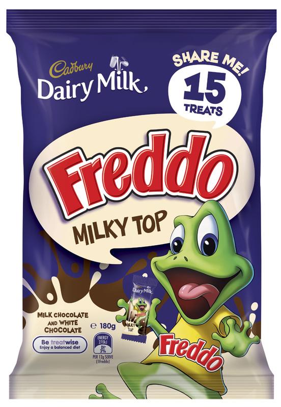 Cadbury Dairy Milk Freddo Milky Top Sharepack (180g)