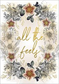 Papaya: All the Feels Foil Empathy Greeting Card