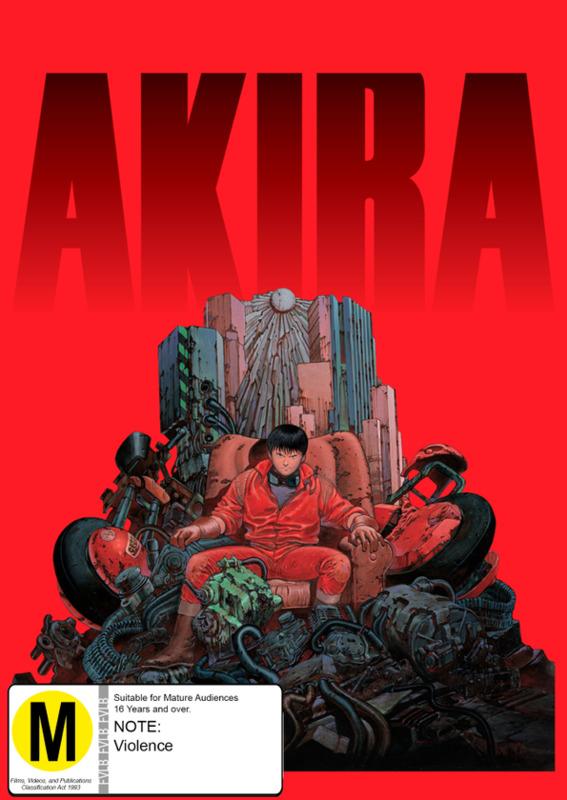 Akira (4K UHD + Blu-ray Combo) (Limited Edition) on Blu-ray