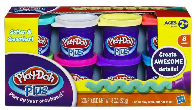 Play-Doh Plus Colour Set 8-Pack image