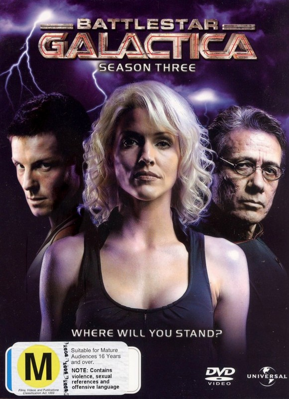 Battlestar Galactica  - Season 3 (5 Disc Digipack Box Set) on DVD