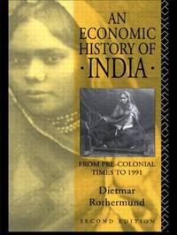 An Economic History of India by Dietmar Rothermund image