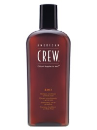 American Crew - 3 In 1 Shampoo/Conditioner and Body Wash (250ml)