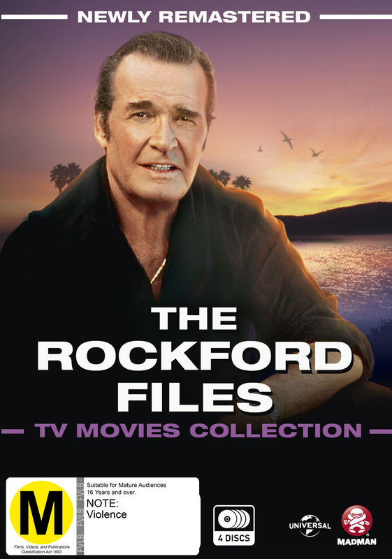 The Rockford Files: The TV Movies Collection on DVD