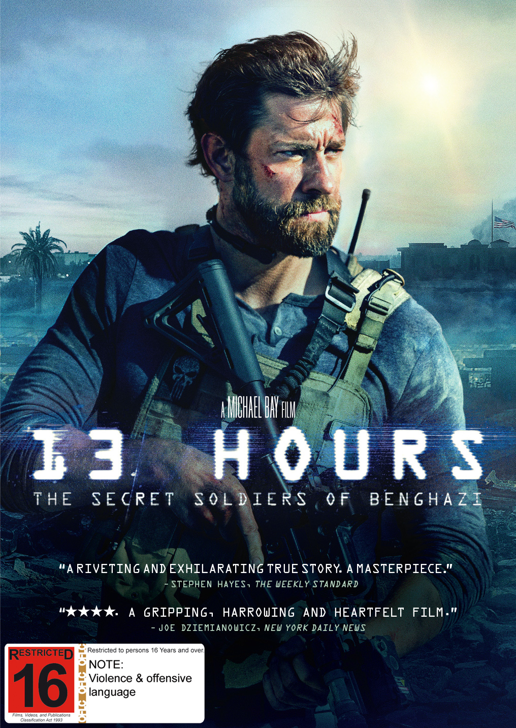13 Hours: The Secret Soldiers Of Benghazi on DVD image