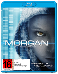 Morgan on Blu-ray