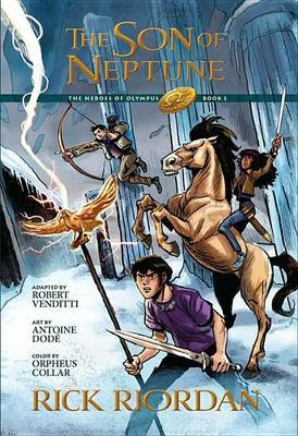 The Heroes of Olympus, Book Two the Son of Neptune: The Graphic Novel (the Heroes of Olympus, Book Two) by Rick Riordan