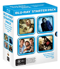 Blu-Ray Starter Pack on Blu-ray