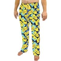 Pokemon Pikachu All Over Print Sleep Pants (2XL)