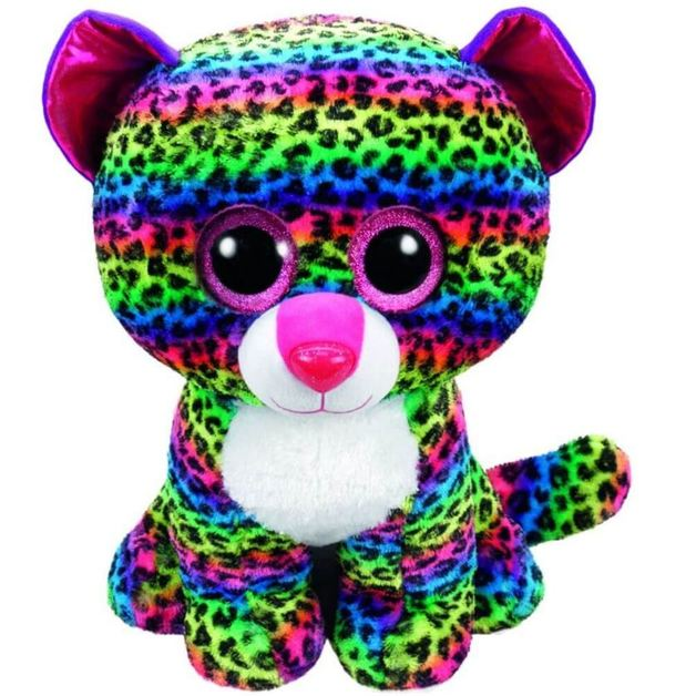Ty Beanie Boo: Dotty Leopard - Large Plush