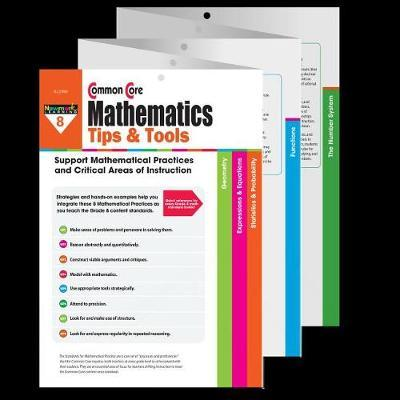Common Core Math Tips & Tools Grade 8