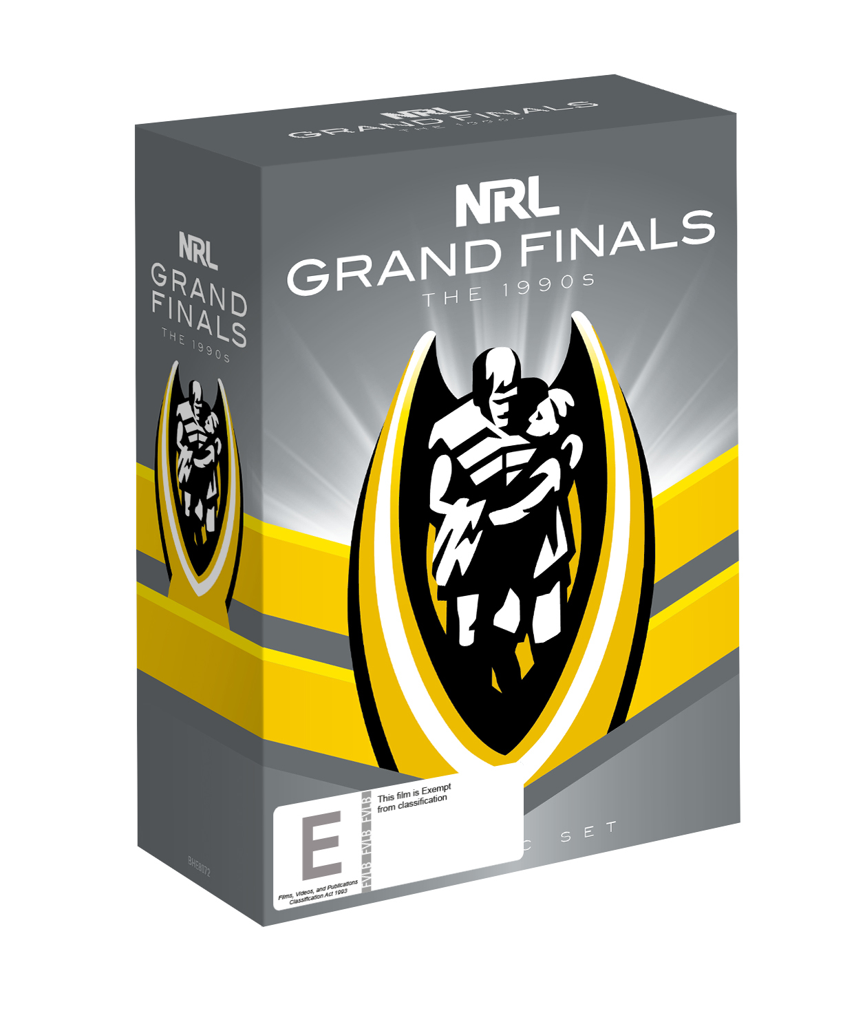 NRL The Grand Finals Collection The 1990s on DVD image