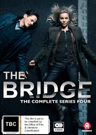 The Bridge - The Complete Series Four on DVD