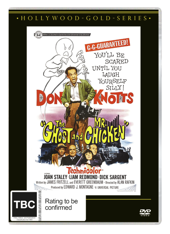 Ghost And Mr Chicken on DVD