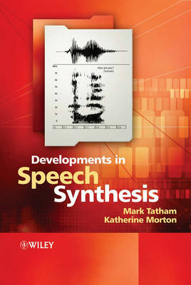 Developments in Speech Synthesis by Mark Tatham image
