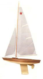 "Star Class Boat 30"" Model Kit"