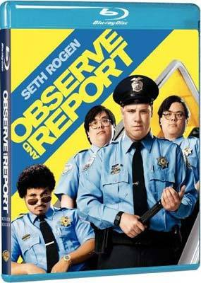 Observe and Report on Blu-ray