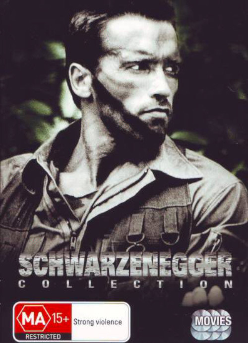 Schwarzenegger Collection Box Set on DVD