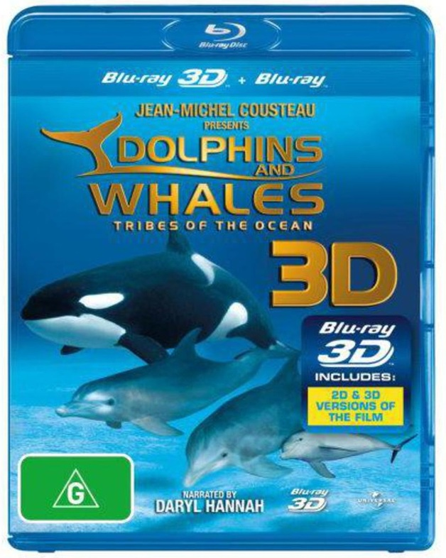Dolphins And Whales: Tribes of the Ocean (3D & 2D Blu-ray) on Blu-ray
