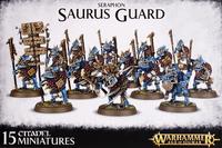 Warhammer Seraphon Saurus Guard