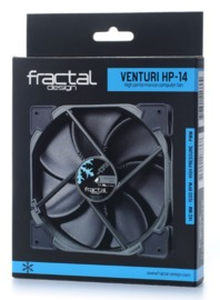 Fractal Design: Venturi Series HP-14 PWM Case Fan (140mm) - Black