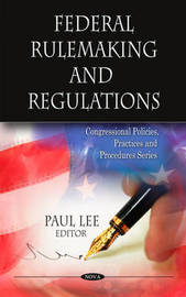 Federal Rulemaking & Regulations by Paul Lee image