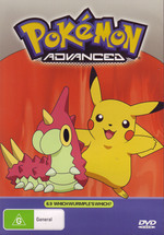 Pokemon - Advanced 6.9: Which Wurmple's Which? on DVD