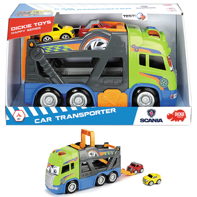 Dickie Toys: Happy Scania - Car Transporter