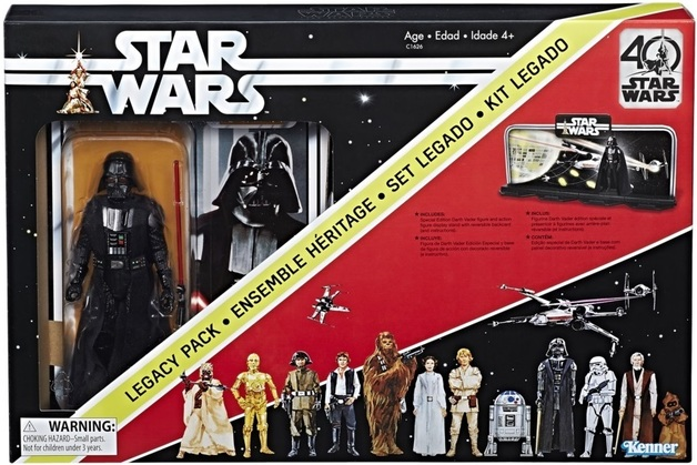 Star Wars: 40th Anniversary - Legacy Pack (Black Series)