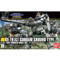 HG 1/144 Gundam Ground Type - Model Kit