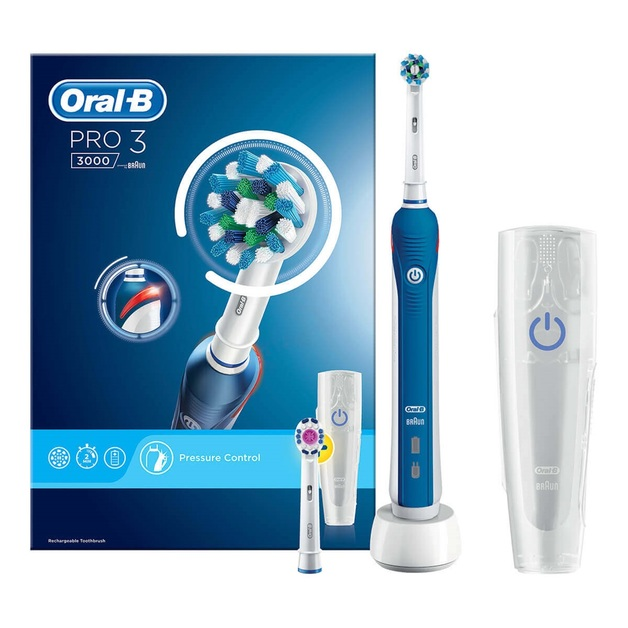 Oral-B: Pro 3 3000 CrossAction Electric Toothbrush