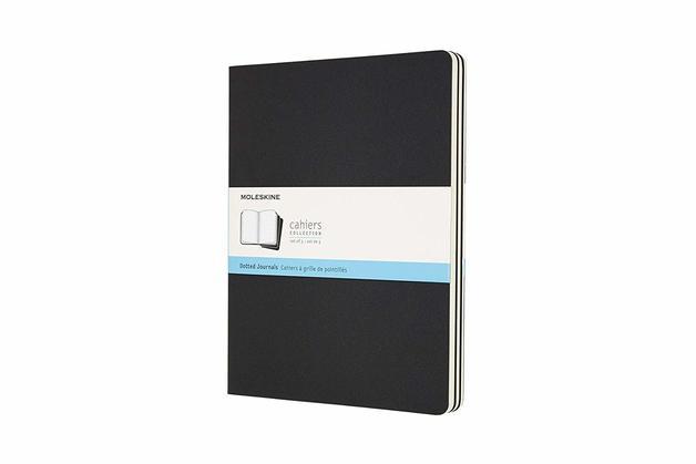 Moleskine: XL Cahier Dotted Journal - Black