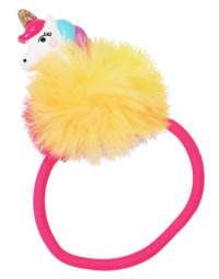Pink Poppy: Unicorn Pom Pom - Hair Elastic