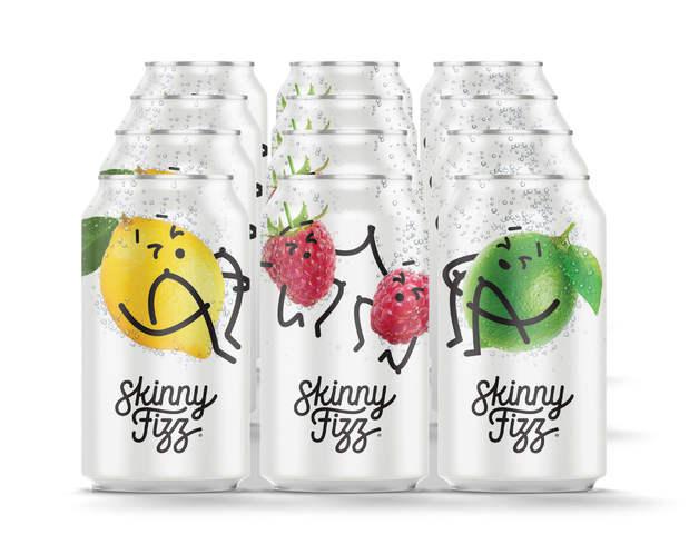 Skinny Fizz - Variety Pack (12 x 330mL)