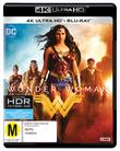 Wonder Woman (2017) on UHD Blu-ray