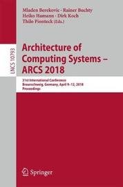Architecture of Computing Systems - ARCS 2018