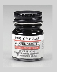 Model Makers: Lacquer Paint - Black (Gloss)