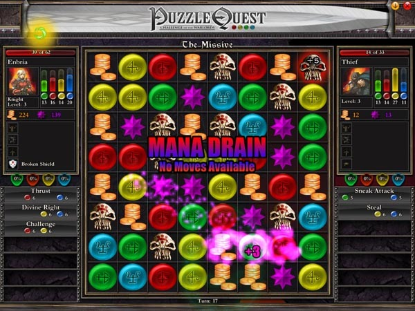 Puzzle Quest: Challenge of the Warlords for PC Games image