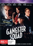 Gangster Squad on DVD, UV