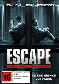 Escape Plan on DVD