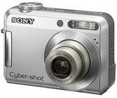 Sony DSCS650 Cyber-shot 7.2 MP  Entry level   2-inch LCD  Silver