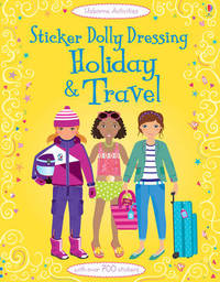 Sticker Dolly Dressing Holiday & Travel by Lucy Bowman