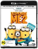 Despicable Me 2 (4K UHD + Blu-ray) DVD