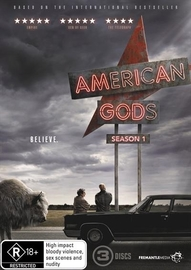 American Gods - Season 1 on DVD